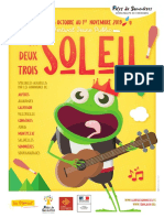 Programme Festival 1-2-3 Soleil 2019