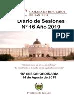 Diario de Sesiones Nº16 -