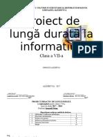 Planuire La Informatica Cl.vii