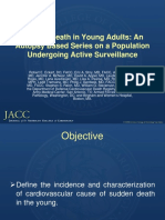 Sudden Death in Young Adults