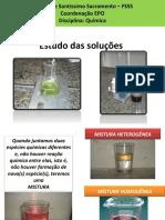 Química Aula 6 - Soluções