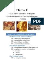 La Peninsula Ibérica Hasta Los Pueblos Prerromanos, 1 Eso Presentación