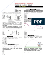 Revisão de Física Colégio Militar Tiradentes