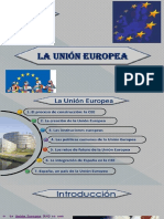 Tema La Unión Europea