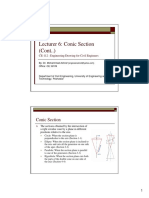 Lecture Notes_6 Drawings_Conics Sections