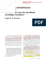 Tavolaro_Existe Uma Modernidade Brasileira