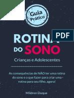 Guia _rotina Do Sono