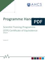 Stp Coe Programme Handbook Aug 14