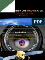 Comprender Los Medios o La Comunicacic3b3n 2020 Copia