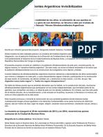 Héroes Afrodescendientes Argentinos Invisibilizados