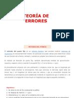Teoría de Errores y Raices de Una Ecuación.2