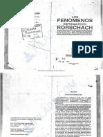 115. PASSALACQUA. y GRAVENHORST (1998) Los Fenómenos Especiales en Rorschach
