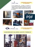 Meltronic Ltda quemadores industriales.