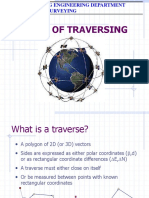 Basics of Traversing
