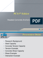 PCI 6th Edition - Headed Concrete Anchors (HCA).ppt