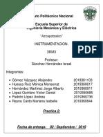 Practica 2 Instrumentacion