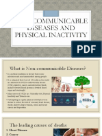 Non Communicable Diseases and Physical Inactivity