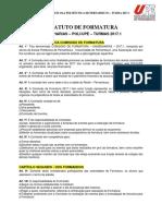 Estatuto de Formatura - Poli 2017.1