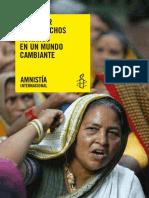 Defender Los Derchos Humanos en Un Mindo Cambiante
