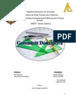 Trabajo de investigacion Geometria Descriptiva
