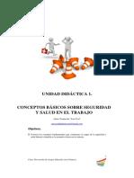 Unidad Didáctica 1. Conceptos Básicos Sobre Seguridad y Salud en El Trabajo