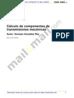 Calculo Componentes Transmisiones Mecanicas 24698