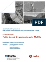 Faith-based Organizations in Melilla