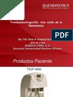 001 - Presentacion Haemonetics - Teg 5000 Teoria Celular