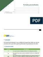 4. Formatos personalizados