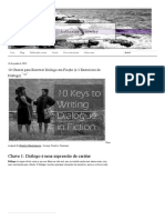10 Keys to Writing Dialogue in Fiction (and 2 Dialogue Exercises) - Katherine Cowley