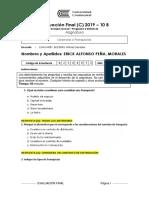 Evaluación Sustitutoria 2019
