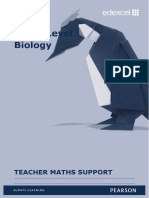 Biology Maths Teacher Guide