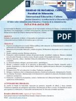 XIII Simposio Educación y Cultura - Varadero, Cuba - 2020(1)