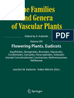 The families and genera of vascular plants Vol. XIV