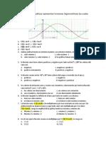 Evaluación Final de Trigonometría de Cuarto Periodo Grado