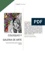 Coloquio y Galería de Arte