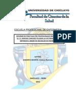 Escuela Profesional de Enfermeria Informe de Internado Comunitario Original Udch