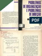 VIANNA, O. Problemas de Organização e Problemas de Direção. 1974