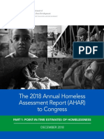 HUD's 2018 Annual Homeless Assessment Report to Congress