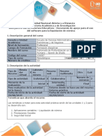 Guía Para El Uso de Recursos Educativos - Documento de Apoyo Para El Uso Del Software Para La Liquidación de Nómina