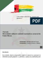 Carnaval Na Guiné-Bissau