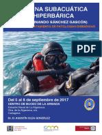 Medicina Subacuatica 2017