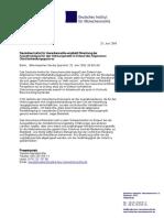 Pressemitteilung Dimr Empfiehlt Streichung Ausnahmeklausel Fuer Wohnungsmarkt Im Entwurf d Allg Gleichbehandlungsgesetzes 20-06-2006