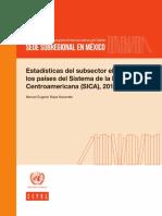 Estadistica Del Subsector Electricos de Los Paises Del Sistema de La Integracion Centromaericana 2016
