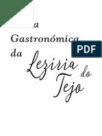 Carta Gastronomica Vol i