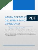 Informe Sistema Financiero Venezolano Agosto 2019