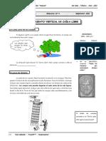 III BIM - FISI - 2do. Año - Guía Nº 5 - Movimiento Vertical