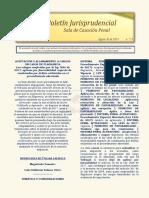 Boletín Informativo N° 15 del 30 de agosto de 2019