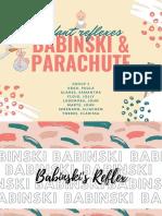 Babinski & Parachute Reflex Ppt Group 3 Bsn2a