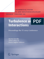 Turbulence interactions